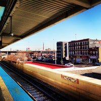 Photo taken at CTA - Halsted by Simon Taylor A. on 4/11/2013