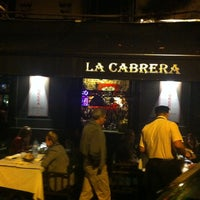 Photo taken at La Cabrera by Grant D. on 5/2/2013