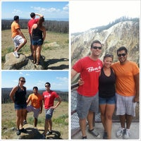 Photo taken at Yellowstone National Park - East Entrance by Adín on 7/27/2013