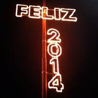 Photo taken at Plaza Rivadavia by Gaston O. on 1/18/2014