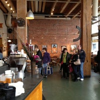 Photo taken at Zeitgeist Kunst & Kaffee by Wesley M. on 11/3/2012