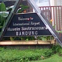 Photo taken at Husein Sastranegara International Airport (BDO) by Tetty S. on 6/12/2013