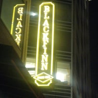 Photo taken at BlackFinn American Saloon by Jason W. on 10/17/2012