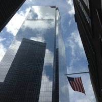 Photo taken at One World Trade Center by Nana H. on 4/19/2013