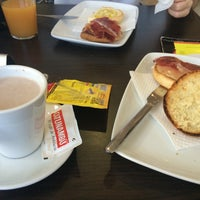 Photo taken at Hotel Restaurante Don Polvorón by Lolixi on 8/23/2014