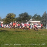 Photo taken at Erie Middle School by Allison S. on 9/29/2012