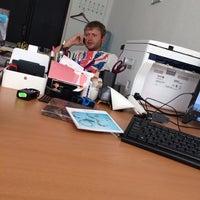 Photo taken at БЦ «Александровский» by Alexandra on 7/28/2014