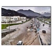 Photo taken at khorfakkan by Meshal A. on 4/30/2013