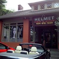 Photo taken at Helmet Hairworx by Jennifer T. on 5/14/2013