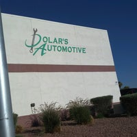 Photo taken at Dolar's Automotive by Shelley A. on 7/8/2013