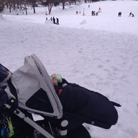 Photo taken at Central Park - Pat Hoffman Friedman Playground by Suzana U. on 2/8/2014