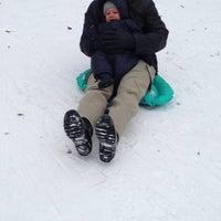 Photo taken at Central Park - Pat Hoffman Friedman Playground by Suzana U. on 1/26/2014