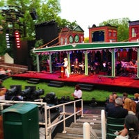Photo taken at Delacorte Theater by Richard S. on 6/12/2013
