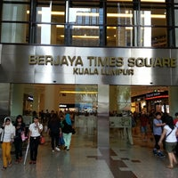 Photo taken at Berjaya Times Square by Denis S. on 3/9/2013