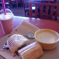 Photo taken at Panera Bread by Malorie K. on 10/19/2012