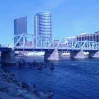 Photo taken at Blue Bridge by Billdozer on 9/25/2012
