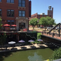 Photo taken at Bricktown District by Merry Madsmas on 7/17/2016