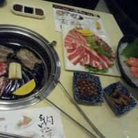 Photo taken at Kumoi Yakinihu · Japanese Cuisine by Kate.kate on 11/5/2012