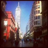 Photo taken at Corredor Peatonal Madero by José D. on 6/6/2013