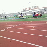 Photo taken at Cromwell Field & Loker Track Stadium by Tammy G. on 5/5/2013
