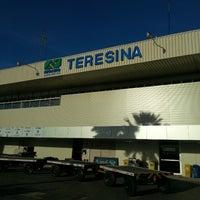 Photo taken at Aeroporto de Teresina / Senador Petrônio Portella (THE) by Eduardo M. on 4/10/2013