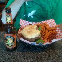 Photo taken at Daily Grind Burgers by Angi P. on 9/29/2012