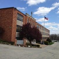 Photo taken at Monsignor Bonner high school by Sean M. on 4/13/2013