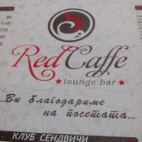 Photo taken at Red Caffe by Kristina P. on 5/7/2013
