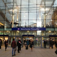 Photo taken at Manchester Piccadilly Railway Station (MAN) by Николай К. on 2/15/2013