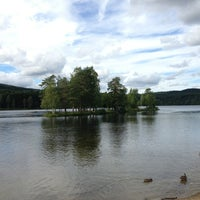 Photo taken at Sognsvann by Mohammed A. on 8/17/2013
