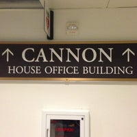 Photo taken at Cannon House Office Building by Sickle Cell T. on 6/26/2013