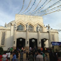 Photo taken at National Shrine of Our Lady of Peace and Good Voyage (Antipolo Cathedral) by Mark Lester A. on 12/25/2012