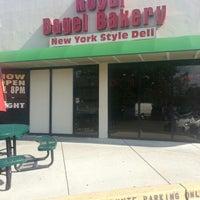 Photo taken at Royal Bagel Bakery & Deli by Carol Elizabeth M. on 10/10/2012
