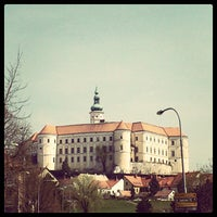 Photo taken at Zámek Mikulov by Tomáš V. on 4/18/2013