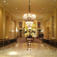 Photo taken at The Mayflower Hotel, Autograph Collection by Suzanne B. on 11/22/2012