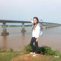 Photo taken at สะพานมิตรภาพไทย-ลาว by Ⓢⓗⓘⓒⓗⓐ🍒シチャ ^. on 5/1/2013