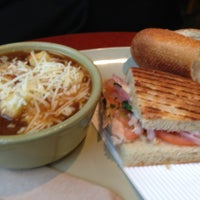 Photo taken at Panera Bread by Randy C. on 1/13/2013