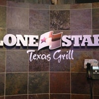 Photo taken at Lone Star Texas Grill by Ryan on 10/20/2012