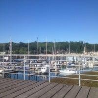 Photo taken at Harbor Island Marina by Josh v. on 7/11/2014