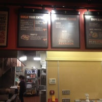 Photo taken at Qdoba Mexican Grill by Josh v. on 11/3/2014