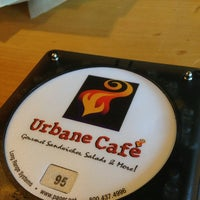 Photo taken at Urbane Cafe by Mike F. on 2/9/2013