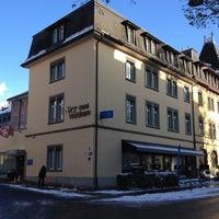 Photo taken at Hotel Waldhorn by Sarkis on 12/2/2012
