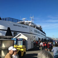 Photo taken at Steamship Authority - Woods Hole Terminal by Mark M. on 9/21/2013