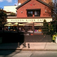 Photo taken at The Hudson River Cafe by Rey R. on 9/16/2012