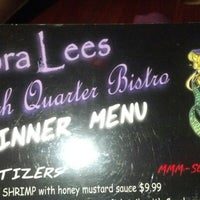 Photo taken at Nora Lees French Quarter Bistro by Chad M. on 10/16/2012