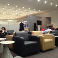 Photo taken at Lufthansa Business Lounge by Lazali on 1/17/2013