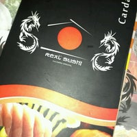 Photo taken at Real Sushi by Fernanda M. on 7/6/2013