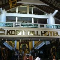 Photo taken at Kosit Hill Hotel by Jinda J. on 10/16/2012