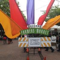 Photo taken at Ballard Farmer's Market by Kevin M. on 5/19/2013