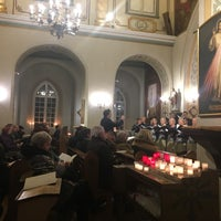 Photo taken at Sv. Marijas Magdalēnas baznīca by Anna P. on 12/17/2016